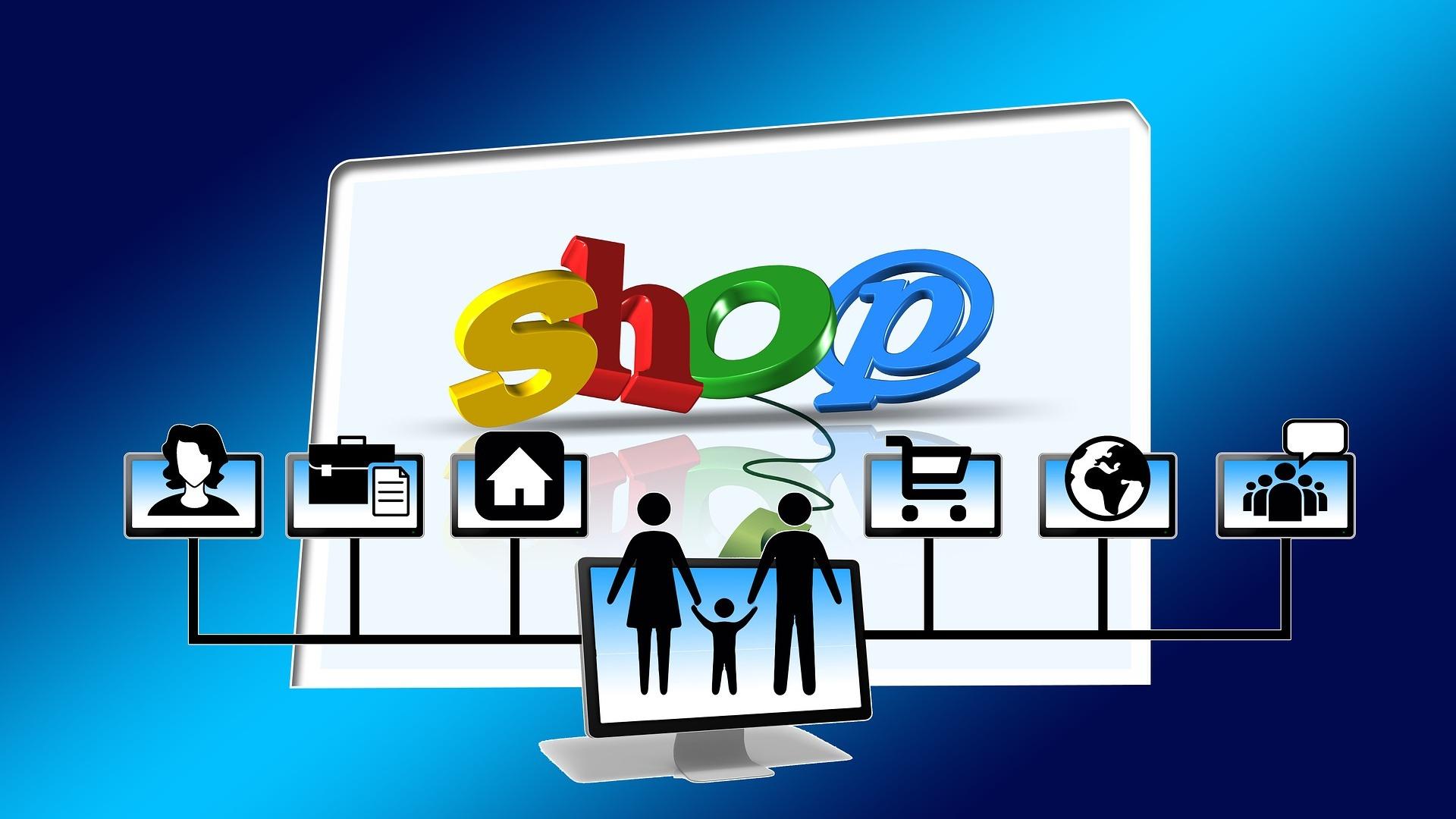 Geld verdienen online & Online-Shop